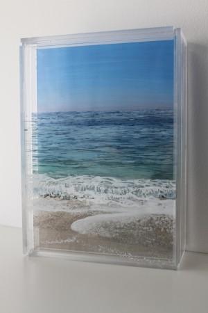 "Coskata, Coatue, SOLD 5x7"" acrylic on mulitple acrylic panels ©Jess Hurley Scott"