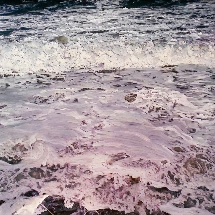 instaart, abstract landscape, ocean, jess hurley scott, painter, seascape art