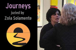 journeys art show, ssac, south shore art center, juried show