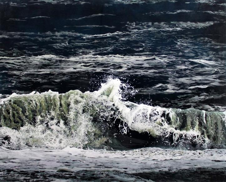 """And Again"", 2015, 32"" x 40"", Acrylic on multiple acrylic panels. ©Jess Hurley Scott""And Again"", 2015, 32"" x 40"", Acrylic on multiple acrylic panels. ©Jess Hurley Scott, painting, ocean painting, marine artist, art, painter, seascape, contemporary art"