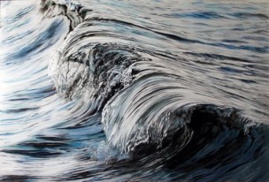 painting, layered paintings, art, artist, seascape painting, opening