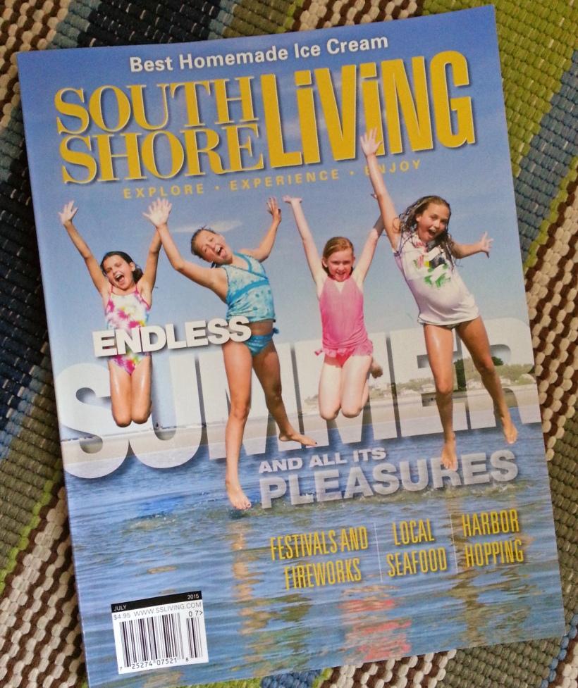south shore living magazine, July 2015