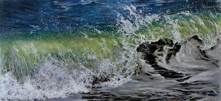 jess hurley scott, art, fine art, painting, contemporary artist, seascape