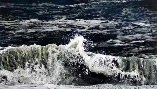 """And Again"", 2015. 32"" x 40""x 2"", acrylic on multiple layers of acrylic panel. ©JessHurleyScott, art, painter, contemporary art"