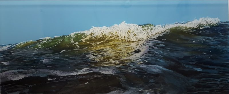 jess hurley scott, seascape, marine painting, waves, ocean,
