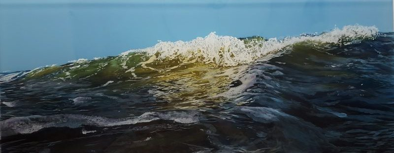jess hurley scott, seascape, marine painting, waves, ocean,