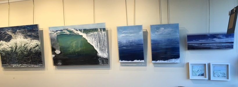 Marine Arts Gallery, Jess Hurley Scott, waves, ocean, contemporary art, painter,