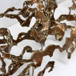 Gretchen Greene, Hazelnut Rush, 2015, bronze, sea, sculpture, art, artist, contemporary artist, marine art