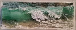 """Sand Beach, #1, 5x13"""""""