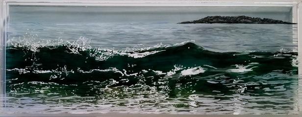 "SOLD Sand Beach, #2, 5x13"""