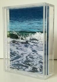 "Beach Ripple, #2, 5x7"""